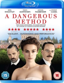 A   Dangerous Method, Blu-ray
