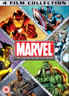 Marvel Animated Features Collection, DVD  DVD