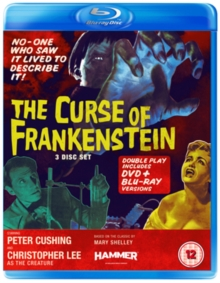 The Curse of Frankenstein, Blu-ray