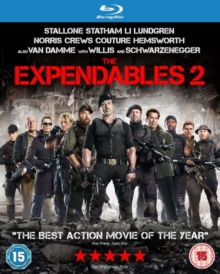 The Expendables 2, Blu-ray