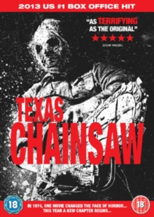 Texas Chainsaw, DVD