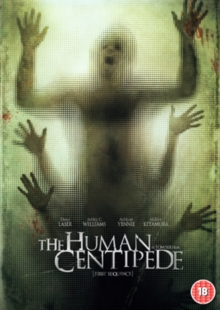 The Human Centipede - First Sequence, DVD
