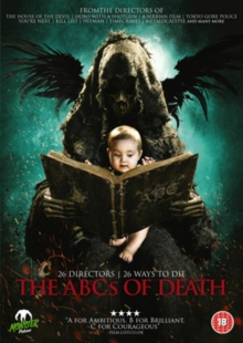 The ABCs of Death, DVD