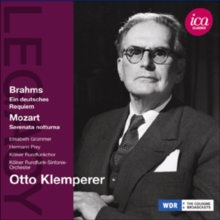 Brahms: Ein Deutsches Requiem/Mozart: Serenata Notturna, CD / Album