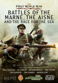 The Battles of the Marne, the Aisne and the Race to the Sea, DVD