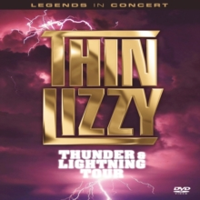 Thin Lizzy: Thunder and Lightning Tour, DVD