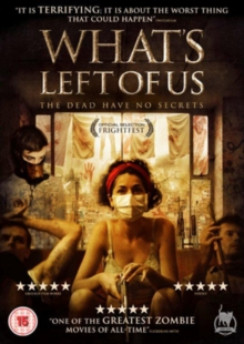 What's Left of Us, DVD  DVD