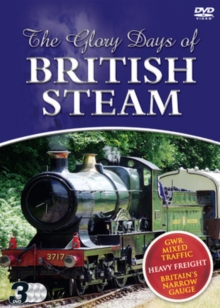 The Glory Days of British Steam, DVD DVD