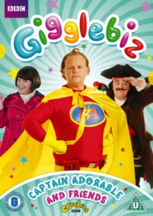 Gigglebiz: Captain Adorable and Friends, DVD