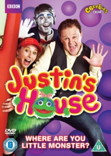 Justin's House: Where Are You Little Monster?, DVD  DVD