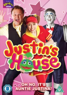 Justin's House: Oh No, It's Auntie Justina, DVD