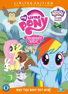 My Little Pony: May the Best Pet Win!, DVD