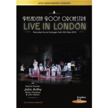 The Pasadena Roof Orchestra: Live in London, DVD DVD