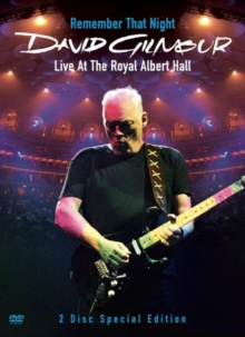 David Gilmour: Remember That Night - Live at the Royal Albert..., DVD  DVD