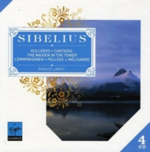 Jean Sibelius: Kullervo/Cantatas/The Maiden in the Tower/..., CD / Album