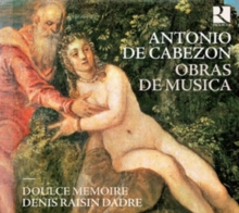Antonio De Cabezon: Obras De Musica, CD / Album Cd
