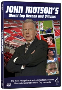 John Motson's World Cup Heroes and Villains, DVD