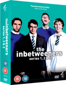 The Inbetweeners: Series 1-3, DVD