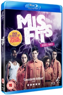 Misfits: Series 3, Blu-ray  BluRay
