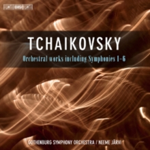 Tchaikovsky: Orchestral Works Including Symphonies 1-6, CD / Album