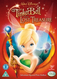 Tinker Bell and the Lost Treasure, DVD  DVD