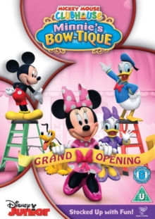 Mickey Mouse Clubhouse: Minnie's Bow-tique, DVD