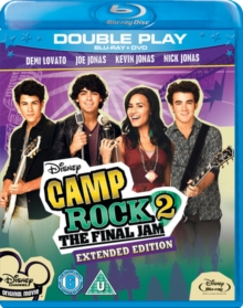 Camp Rock 2 - The Final Jam (Extended Edition), Blu-ray