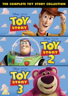 Toy Story 1-3, DVD