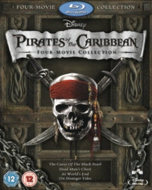 Pirates of the Caribbean 1-4, Blu-ray