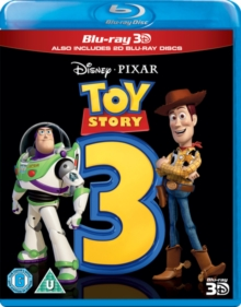 Toy Story 3, Blu-ray