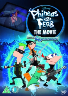 Phineas and Ferb - The Movie: Across the 2nd Dimension, DVD