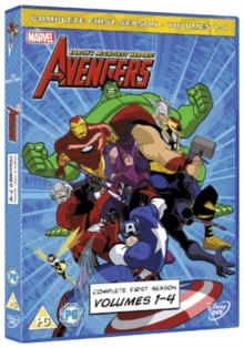 The Avengers - Earth's Mightiest Heroes: Volumes 1-4, DVD DVD