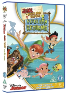 Jake and the Never Land Pirates: Peter Pan Returns, DVD