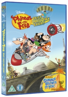 Phineas and Ferb: Best Lazy Day Ever, DVD