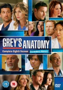 Grey's Anatomy: Complete Eighth Season, DVD