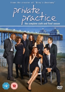 Private Practice: The Complete Sixth Season, DVD