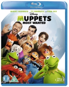 Muppets Most Wanted, Blu-ray