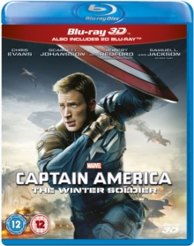 Captain America: The Winter Soldier, Blu-ray