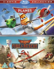Planes/Planes: Fire and Rescue, Blu-ray