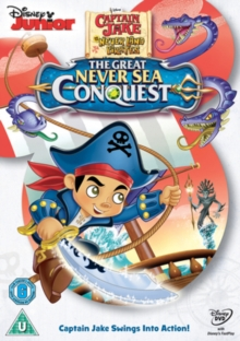 Captain Jake and the Never Land Pirates: The Great Never Sea..., DVD DVD