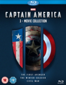Captain America: 3-movie Collection, Blu-ray