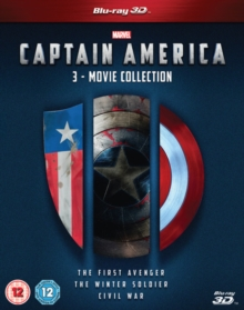 Captain America: 3-movie Collection, Blu-ray BluRay