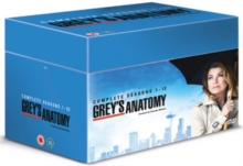Grey's Anatomy: Complete Seasons 1-12, DVD DVD