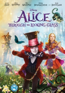 Alice Through the Looking Glass, DVD