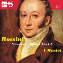 Rossini: Sonatas for Strings Nos. 1-6, CD / Album