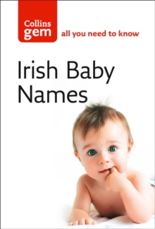 Irish Baby Names, Paperback