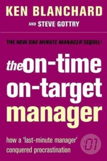 The On-time, On-target Manager, Paperback