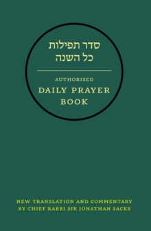 Hebrew Daily Prayer Book, Leather / fine binding