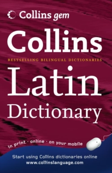 Collins Gem : Collins Gem Latin Dictionary, Paperback