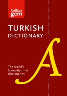 Collins Gem English-Turkish Dictionary, Paperback Book